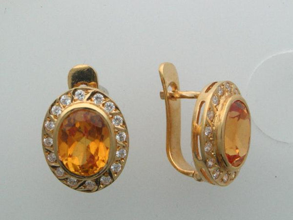 884 - 19.2kt Portuguese Gold Earrings - Columbia Jewelers, Fall River, Massachusetts, USA