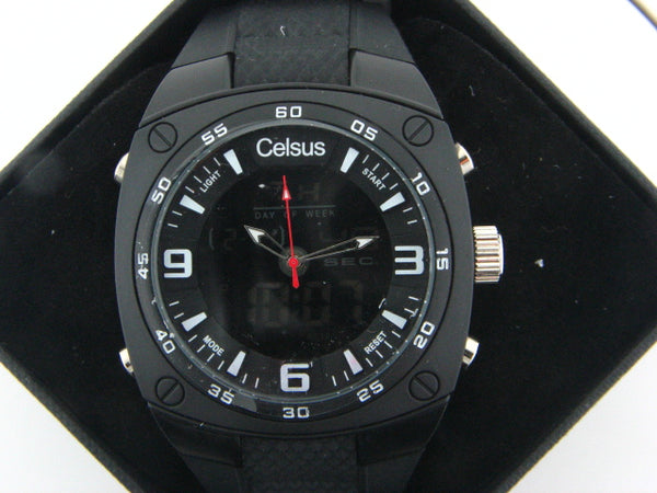 RCL - Celsus Sports Quartz Watch (Black)