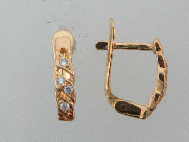 19.2k Portuguese Gold Kids Earrings