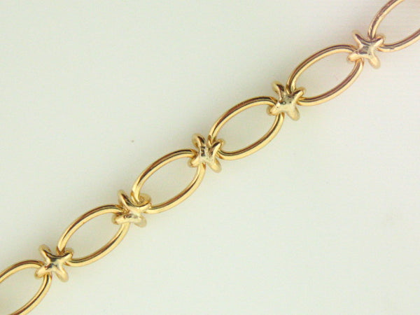 R220 - 19.2K Portuguese Gold Ladies Bracelet - Columbia Jewelers, Fall River, Massachusetts, USA