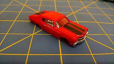 Red Chevelle American Line T-Jet body HO Aurora Mid America B404-R