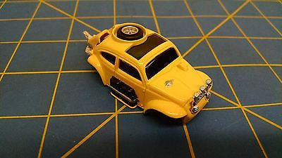 Yellow AURORA HO MAGNATRACTION BAJA BUG slot car body Mid-America B456-Y