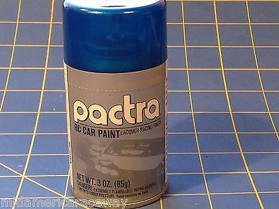 Pactra RC293 True Blue Pearl  Lexan Spray Paint 1/24 Slot Car RC Mid America