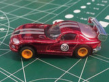 Chrome Red Viper by Johnny Lighting  Tomy Turbo chassis from MidAmerica Raceway