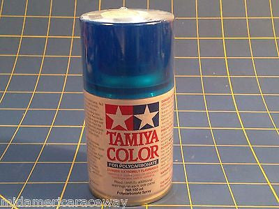 Tamiya PS-39 Translucent Light Blue Polycarbonate Spray Paint #86039 Mid-America