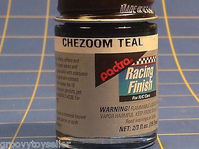 Pactra RC91 Chezoom Teal Lexan Paint  2/3 oz Mid America