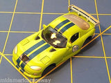 Green w/ Blue Stripes Dodge Viper GTS American Line Body HO AML B450-g