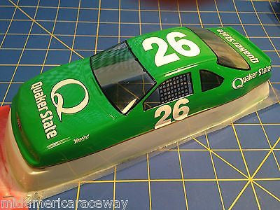 Painted 4.5 inch Stock Car #26 Quaker State 1/24 from MidAmerica Raceway