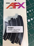 "AFX Tomy 6"" x 1/8"" Curve Track 8656 (2pcs) New in Sealed Pkg Mid America Raceway"
