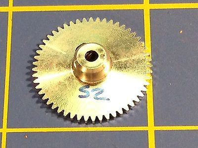 Sonic 3/32 axle 64 Pitch 52 Tooth Aluminum Drag Spur Gear Mid America Raceway