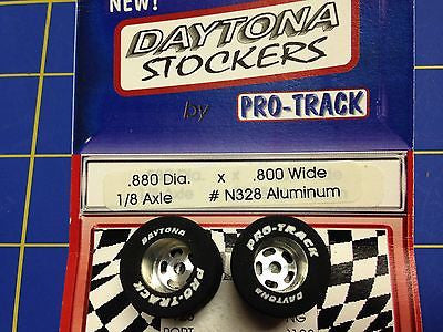 Pro Track N328 Daytona stockers .880 x .800 rear Tires 1/8 axle Mid America