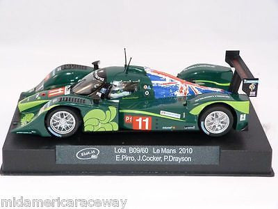 SLOT IT SICA22A LOLA B09/60 LMP WITH NEW LONG CAN MOTOR & ANGLEWINDER POD 1/32