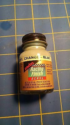 Pactra RC5702 Change Blue 1 oz Acrylic Racing Finish Polycarbonate Lexan Paint