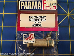 Parma 285E 25 OHM Resistor for Economy Controller from Mid America Raceway