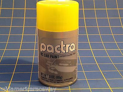 Pactra RC279 Fluorescent Yellow Lexan Spray Paint 1/24 Slot Car RC Mid America