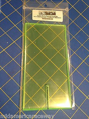 Lucky Bob's #1003G Green Acrylic Setup Display Block from Mid America Raceway