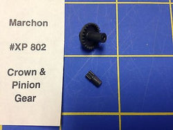 Marchon Crown and Pinion Gears HO Slot car HXP 802 Mid America Raceway