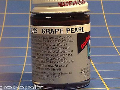 Pactra RC92 Grape Pearl Lexan Paint  2/3 oz Mid America