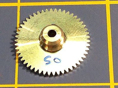 Sonic 3/32 axle 64 Pitch 50 Tooth Aluminum Drag Spur Gear Mid America Raceway