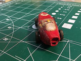Aurora T-Jet Red Indy HO SLOT CAR  MidAmerica Raceway