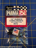 "Parma O-Ring Fronts - 1/2"" - 6 Pair - #672   From Mid America Raceway"