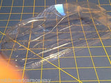 Straightlines Probe P/S Clear Lexan Drag body SL28 1/24 Mid-America raceway