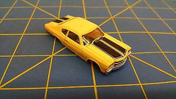 Yellow Chevelle American Line T-Jet body HO Aurora Mid America B404-Y