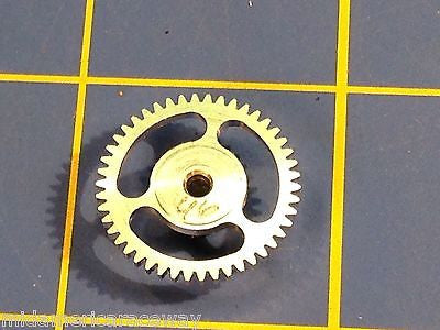 Sonic Light 3/32 64 Pitch 46 Tooth Aluminum Drag Spur Gear Mid America Raceway