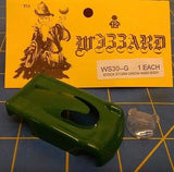 NEW Green WIZZARD STORM made in USA HO Slot Car Replacent Snap Fit Hard Body