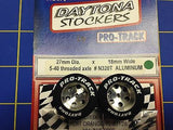 Pro Track N320T Daytona Stockers 27mm 18mm Tires 5-40 Threaded axle Mid America