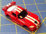 Red w/ White Stripes Dodge Viper GTS American Line Body HO AML B450-R