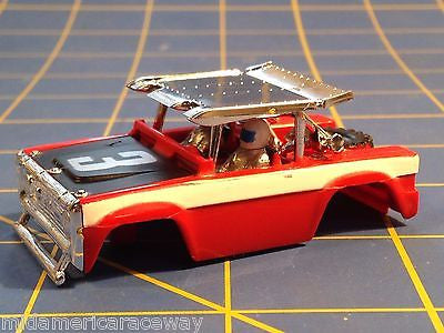 AURORA HO MAGNATRACTION BAJA BRONCO slot car body 1909R From Mid-America Raceway