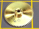 Sonic 3/32 axle 64 Pitch 60 Tooth Aluminum Drag Spur Gear Mid America Raceway