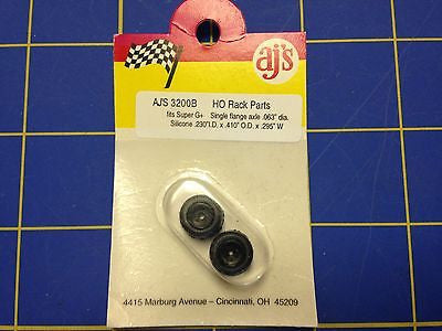 AJ'S 3200B for Super G+ single flange silicone rims and tires for .063 axle