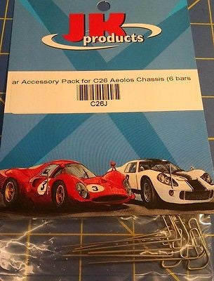 JK C26J J-Bar Accessory Pack 1/24 from Mid-America Raceway
