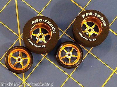 Pro Track Gold Pro Star 1 1/16 x 500 Rear, Front Drag 1/24 n407i  Mid America