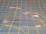 California Sportsman clear lexan body 1/24 slot car from  Mid America Raceway
