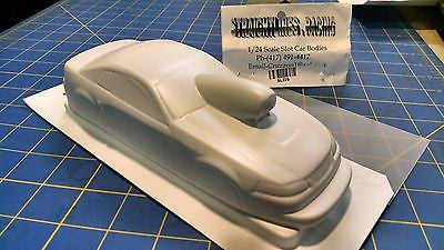 Straightlines SL22X Mustang Coupe P/S Styrene Drag body Mid-America Raceway