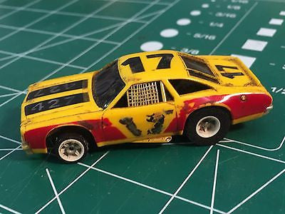 Aurora AFX Chevelle Stocker G Plus chassis HO SLOT CAR  MidAmerica Raceway