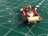 Aurora AFX L&M Lola T-260 Can Am Magna Traction HO SLOT CAR  MidAmerica Raceway