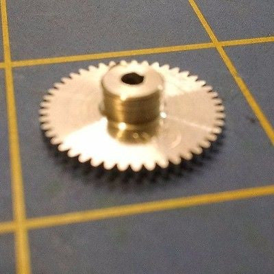 Sonic 3/32 axle 64 Pitch 45 Tooth Aluminum Drag Spur Gear Mid America Raceway