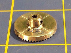 Sonic 3/32 axle 64 Pitch 48 Tooth Aluminum Drag Crown Gear Mid America Raceway