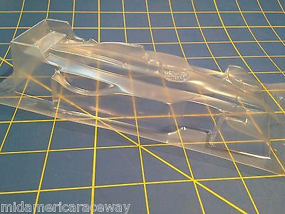 Redfox Indycar  1/24 Clear Slot Car Body from Mid America Raceway