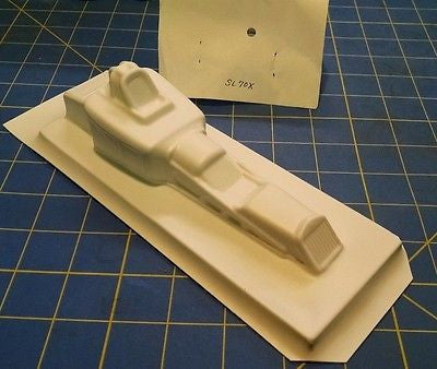 Straightlines SL70X '23 Ford Altered Styrene Drag body 1/24  Mid-America