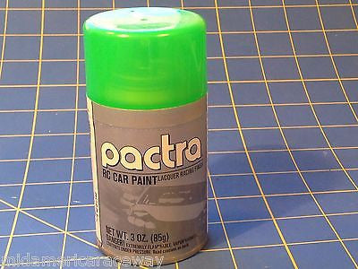 Pactra RC281 Fluorescent Green Lexan Spray Paint 1/24 Slot Car RC Mid America