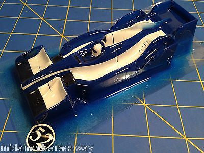 F-1 Eurosport 32 scale painted body 1/32 from Mid America Raceway 52