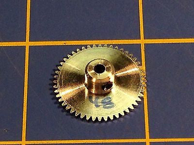 Sonic 3/32 axle 64 Pitch 48 Tooth Aluminum Drag Spur Gear Mid America Raceway