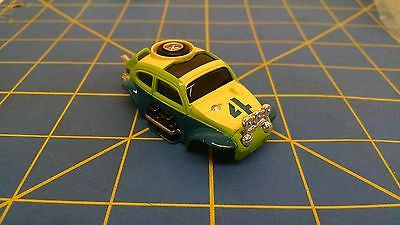 Green AURORA HO MAGNATRACTION BAJA BUG slot car body Mid-America B456-G