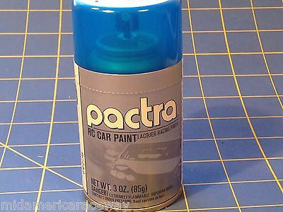 Pactra RC282 Fluorescent Blue Lexan Spray Paint 1/24 Slot Car RC Mid America