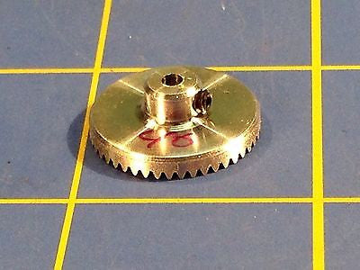 Sonic 3/32 axle 64 Pitch 46 Tooth Aluminum Drag Crown Gear Mid America Raceway